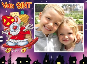 Sinterklaas kaartje
